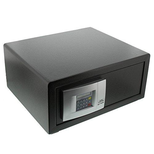 BURG-WÄCHTER Laptoptresor mit elektronischem Zahlenschloss, Point-Safe, 27,9 l, 16,7 kg, P 3 E LAP, Schwarz