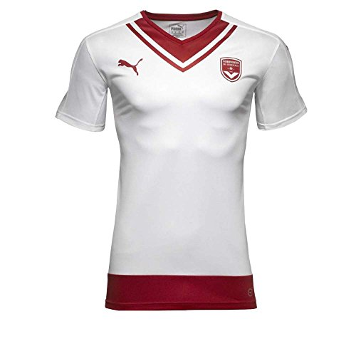 PUMA Fcg Feria Replica Chemise Homme White/Chili Pepper FR : XL (Taille Fabricant : XL)
