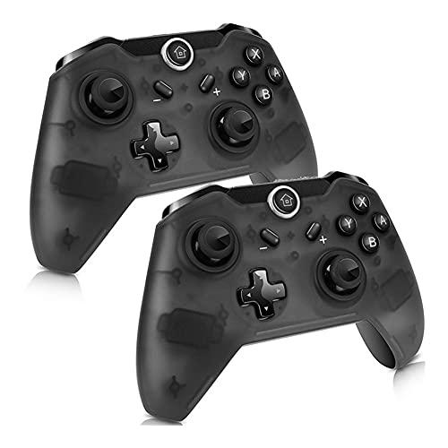 SFQRYP Gamepad inalámbrico Bluetooth Pro Controller Ergonomic Gamepad Joypad Remote Controlle (Color : 2pcs)