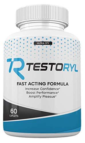 Testoryl Pills - Testoril Male Supplement Booster for Men - 60 Caps