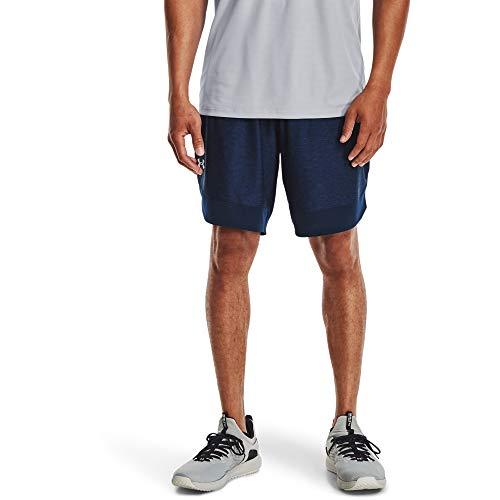 Under Armour Pantalones Cortos para Hombre Train Stretch, Hombre, Pantalones Cortos, 1356858-408, Academy/Mod Gray (408), Extra-Large