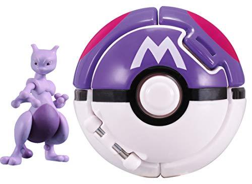 Takaratomy Moncolle Pokederze Big Mewtwo (Master Ball) Pokemon Mewtwo Counterattack Evolution