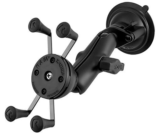RAM MOUNT X-Grip Saugfusshalterung für iPhone 6 und Smartphones, mittlerer Arm - RAM-B-166-UN7U