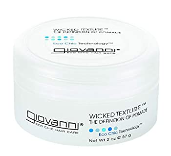 GIOVANNI Wicked Texture The Definition Of Pomade oz Adds Separation to Shape Smooth Texture for Ease of Use Washes Out Easily No Parabens Color Safe Multi Styling Glue 2 Ounce
