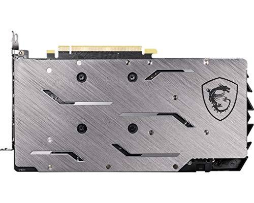 MSI GeForce GTX 1660 backplate