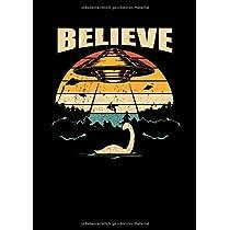 Notizbuch: Nessie Ufo Verschwoerungstheorie Loch Ness Geschenk 120 Seiten, A4, Punktraster