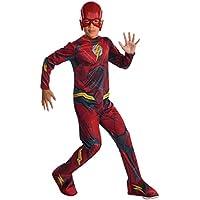 Marvel - Disfraz de Flash superhéroe para niños, infantil 5-7 años (Rubie