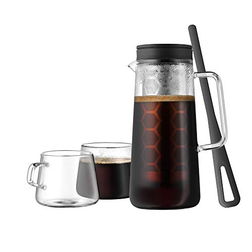 WMF Light Brew Kaffeekanne CoffeeTime 0,7l mit 2 Kaffeetassen