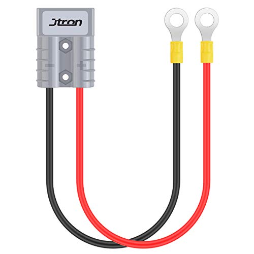 Jtron DC500V 50A Car Quick Disconnect Winch Power Cable Battery Connector Quick Connect 10Awg for Car Van Motorcycle RV Station Wagon Trailer (Battery Quick Connect -1)