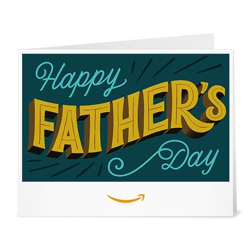 Amazon Gift Card - Print -Father's Day Lettering