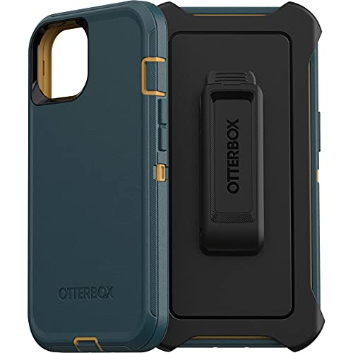 OtterBox Defender Series SCREENLESS Edition Case for iPhone 13 (ONLY) - Hunter Green