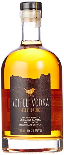 Kin Toffee Vodka – 20.3% ABV, 700ml Bottle   Made in the Lake District  ...