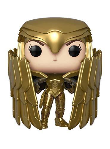 POP Funko WW84 Wonder Woman 329 Golden Armor Shield