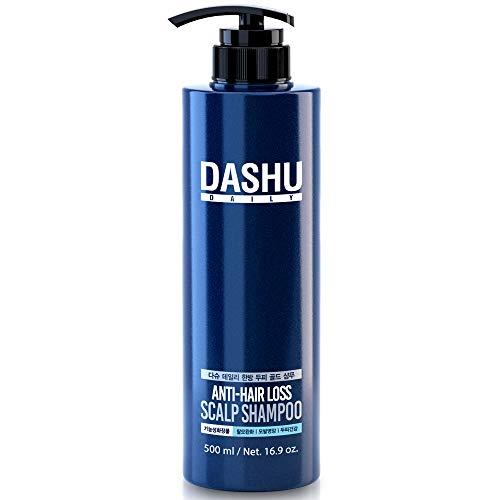 Dashu Daily Anti-Hair Loss Scalp Shampoo 16.9fl oz – Herbal Premium Shampoo, Repairs Hair Follicles, Prevent Hair Loss with Silk Ingredients
