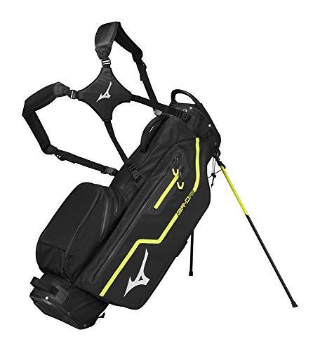 Mizuno 2020 BR-DRI Stand Golf Bag, Black-Lime Punch