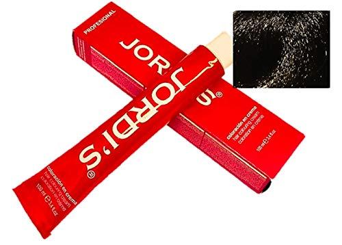 Tintes Profesionales color intenso y brillante - 1.5- NEGRO VIOLIN - Coloración en crema 100ml.