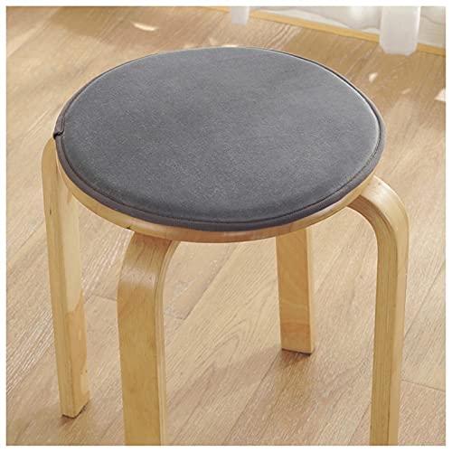 Cuscino Rotondo per Sedia Cuscino per Sedia Antiscivolo Sedile per Sgabello Cucina Sala da Pranzo Sgabello Alto per Ufficio Imbottiture per sedie Spugna per Sedile Rigido Bar Pad