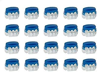 GardenTastico®   20 conectores de cables con relleno de gel o grasa  extra impermeable y resistente a la intemperie - Idea...
