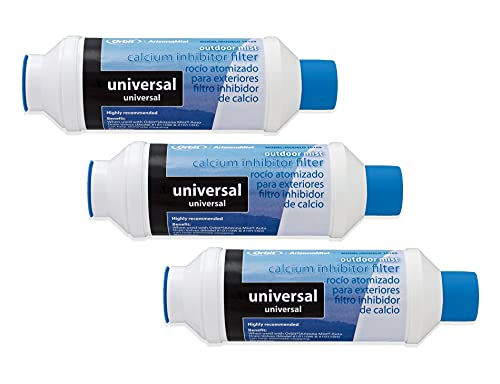 Orbit 3 Pack Misting System Calcium Inhibitor Filter