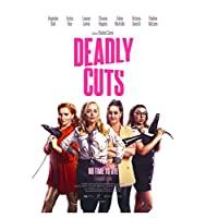 Deadly Cuts Hot Classic Movie Cover Wall Art Canvas Print Poster Picture Living Room Home Decor Gift -60x80cm フレームなし