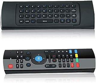 Lipa acc52 MX 3 Remote RAM Air Mouse, Zwart, Usb Receiver, Draadloos, Met toetsenbord, Met Airmouse, Universeel