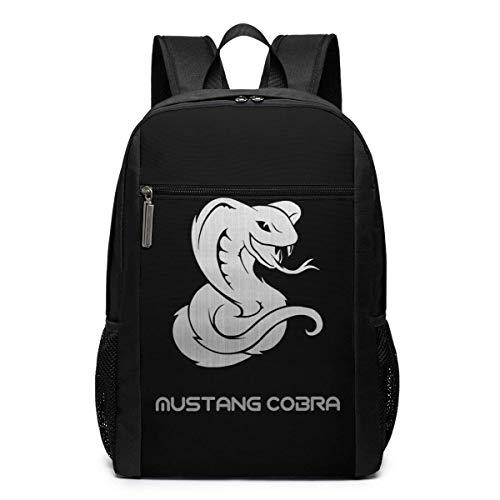 Rucksack Mustang Co-Bra Business School Laptop Rucksack Reise Wandertasche für Männer Frauen Kinder Tagesrucksäcke College Reiserucksack Schultasche 17 Zoll