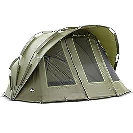 Lucx® Bobcat Tente de pêche pour 2 Personnes 2 Personnes, Homme, vert olive, L