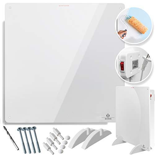 KESSER® Infrarotheizung 425 Watt Wandheizung ✓ Infrarot ✓ Heizung ✓ Heizkörper | Heizpaneel| Inkl.Standfüßen NEU |