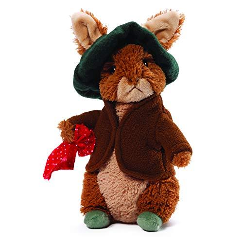 """GUND Classic Beatrix Potter Benjamin Bunny Rabbit Stuffed Animal Plush, 6.5"""""""