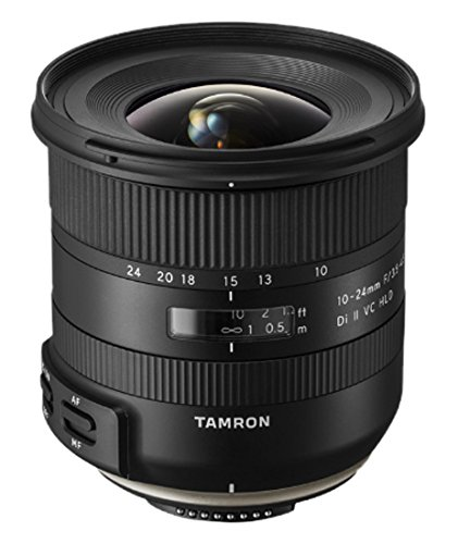 Tamron 10-24mm F/3.5-4.5 Di-II VC HLD Wide Angle Zoom Lens
