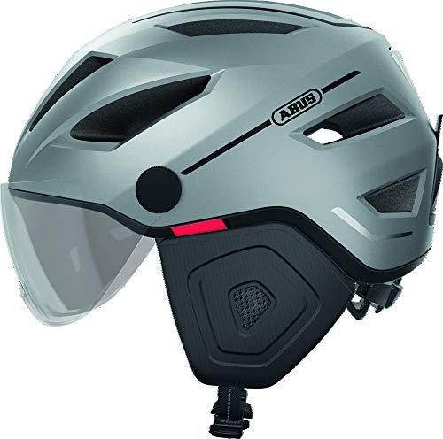 Abus Pedelec 2.0 ACE Helm Silver Edition Kopfumfang L | 56-62cm 2020 Fahrradhelm