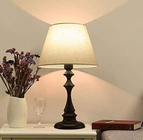 Nuanxin Lámpara de Techo Lámpara lámpara de Escritorio Sencilla y Elegante Control Remoto de la Cama de la Cama se Puede Usar en la Sala de Estar del Dormitorio, 1, a