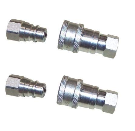 Read About Professional Parts Warehouse Aftermarket (2) 1/4 Hydraulic Ball Style Quick Couplers for...