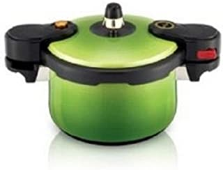 KitchenFlower EcoCook Ceramic Pressure Cooker Green 2.5L