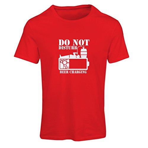 lepni.me Camiseta Mujer Carga de Cerveza, Refranes Divertidos para Beber, Regalos para cervecero (Small Rojo Blanco)