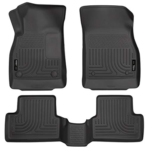 Husky Liners Fits 2011-15 Chevrolet Cruze, 2016 Chevrolet Cruze Limited Weatherbeater Front & 2nd Seat Floor Mats