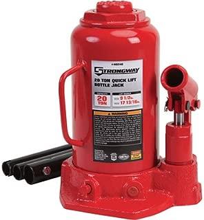 Strongway 20-Ton Hydraulic Quick Lift Bottle Jack