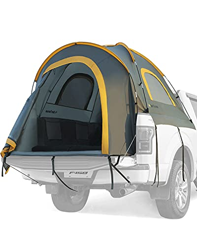 JoyTutus Pickup Truck Tent, Waterproof PU2000mm Double Layer for 2 Person,...