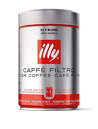 illy Classico Medium Roast Filter Coffee, 250 g