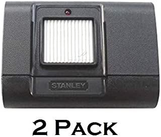 2 Pack 1050 Linear Stanley 105015 1 Button Garage Door Remote Opener Gate Rransmitter Control 310Mhz