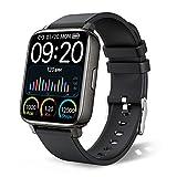 chalvh Smartwatch, 1.69' Táctil Completa Reloj Inteligente Mujer Hombre, Pulsera Actividad Inteligente con Podómetro, Pulsómetro, Monitor de Sueño, Reloj Deportivo Impermeable IP67 para Android y iOS