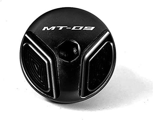 Motocicleta CNC Aluminio Tapones Ilenado Aceite, para Tracer 900 GT MT09 Motocicleta Líquido Freno Delantero Depósito Combustible Tapa Del Tanque