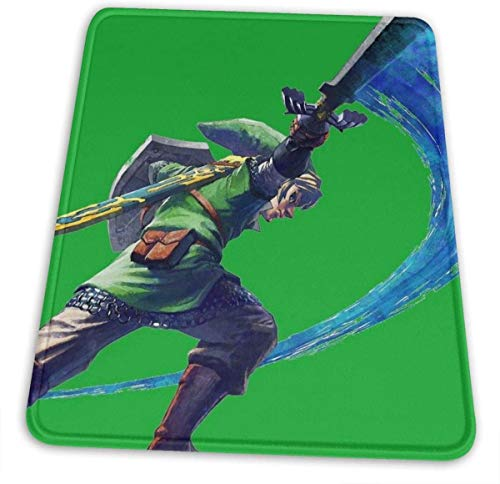 Link Slash Hemming The Mouse Pad 10 X 12 Inch Esports