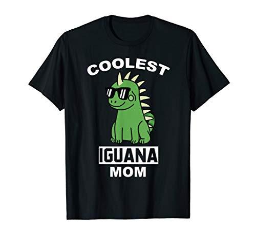 Coolest Leguane Mom Lustiger Haustier T-Shirt