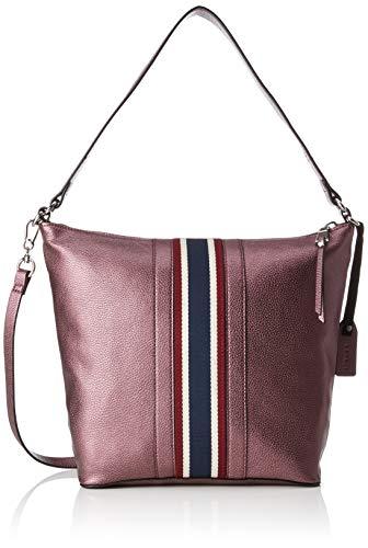 Esprit Accessoires Damen 088ea1o020 Umhängetasche Violett (Aubergine)