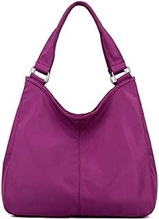 TOOGOO Women'S Nylon Handbag Multi-Function Mother Shoulder Bag Large-Capacity Waterproof Shopping Bag Black