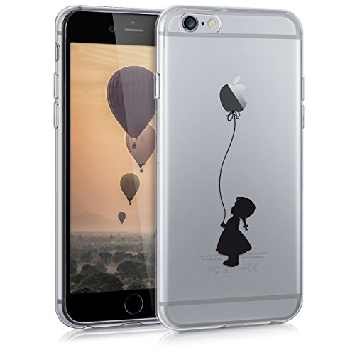 kwmobile CUSTODIA IN TPU silicone per Apple iPhone 6 / 6S Design