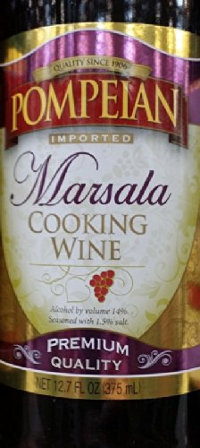 Pompeian Cooking Wine 12.7 Oz (Pack of 3) (Marsala)