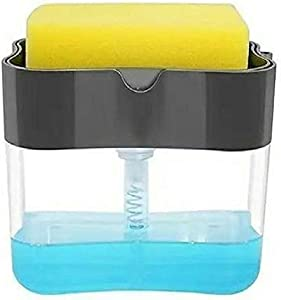 Soap Dispenser With Loofah Holder