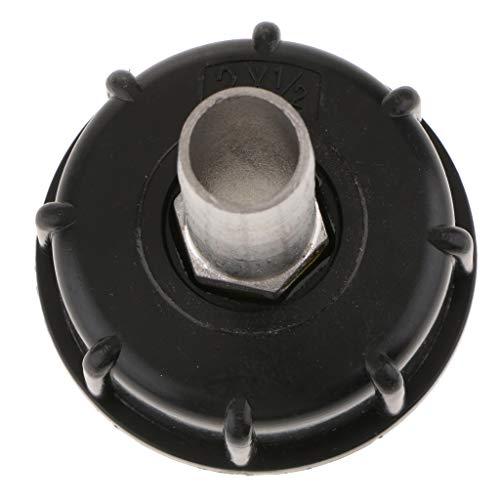 yotijar Conector adaptador de manguera de jardín para depósito de agua de 1000 L IBC de 2